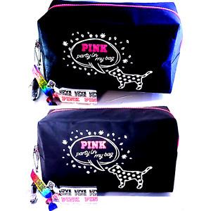 Victoria's Secret PINK COSMETIC CASE Travel Beauty Bags 🌴 Pouch 👙 Bikini 👝