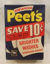 Vintage Peet's  Soap by Colgate Palmolive box unopened