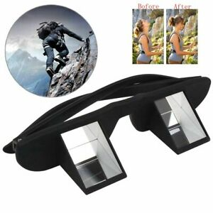Rock Climbing Goggles Outdoor Hiking Camping Pro Belay Glasses Refractive Prism