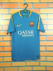 Barcelona Jersey SMALL Training Shirt Nike Football Soccer 686600-436