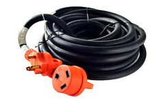 Power TechON RVC3003 25' 30 Amp RV Extension cord w/ Handles