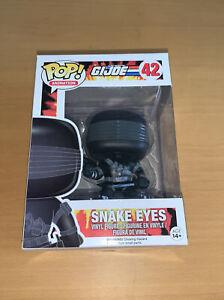 Pop Animation A Real American Hero GI Joe 42 Snake Eyes Vinyl Character Figure