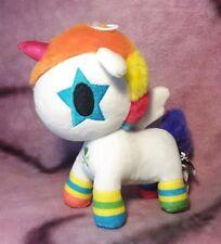 "Tokidoki Unicorno - ""Bowie"" Small Plush Stuffed Animal Toy - Aurora"