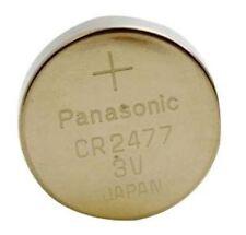 Panasonic Battery Lithium Coin 3 Volt 1000Mah CR2477