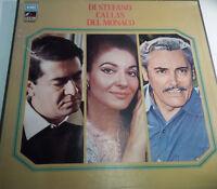 BOX 3 LP 33 CALLAS DEL MONACO DI STEFANO EMI 3C16350119/21 ITALY