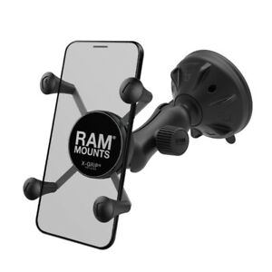 RAM X-Grip Holder Small Twist Lock Suction Cup Mount RAP-B-166-2-UN7 for iPhone