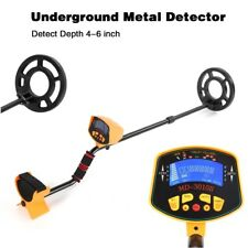 Metal Detector LCD Screen Deep Target Power Coils Treasure Hunting Waterproof AA