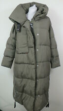 Khujo #35034 Juliett Mantel Jacke Damen Mantel Winter Steppmantel Gr. S Oliv