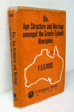 Rose,KIN,AGE STRUCTURE AND MARRIAGE AMONGST THE ABORIGINES,1960[aborigeni