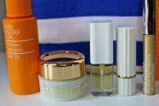 Estee Lauder Vintage NOS Summerworks Set Linen Parfum, Lipstick, Mascara, Creme