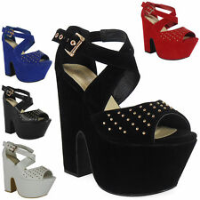 Faux Suede Strappy, Ankle Straps Wedge Shoes for Women