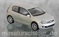 WIKING 007440 / 0074 40 (H0, 1:87) - VW Golf VI 3Türer silber leaf metallic NEU!
