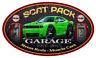 Dodge Challenger SCAT PACK Garage Sign Wall Art Graphic Sticker