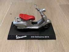 Die cast 1/18 Modellino Moto Scooter Vespa 946 Bellissima 2014