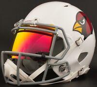 ***CUSTOM*** ARIZONA CARDINALS Full Size NFL Riddell SPEED Football Helmet