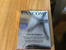 Lancome COLOR DESIGN Jacaranda Bloom All-In-One 5 Eye Shadow Liner Palette NIB
