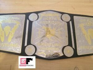 North American Mid South Heavyweight Wrestling Title L.Rplica Championship Belt