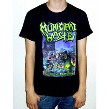 "Municipal Waste ""The Art Of Partying"" Black T-shirt - NEW fatal feast"