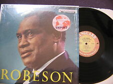 LP PAUL ROBESON WITH CHORUS & ORCHESTRA / VSD 2015 USA edit