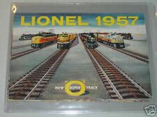 1957 LIONEL CATALOG- NEW