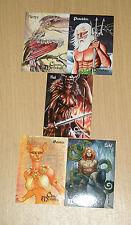 2012 Tony Elaine Perna Studios Mythology preview sealed 5-card set NO SKETCH