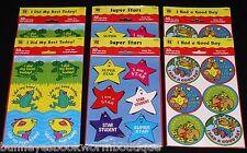 LOT 180 Reward BADGES Stickers PRESCHOOL Supplies TEACHER Teaching KINDERGARTEN