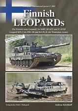 TANKOGRAD 8005 FINNISH LEOPARDS THE FINNISH ARMY LEOPARD2 A4 MBT, 2R AEV & 2LAVL