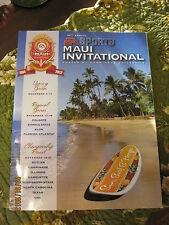 2012 MAUI INVITATIONAL - BASKETBALL TOURNAMENT PROGRAM AND MORE- 29TH ANNUAL