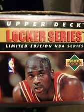 1991 UPPER DECK MICHAEL JORDAN LOCKER SERIES 5 of 6 NO CARDS (JUST THE BOX)