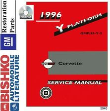1996 Chevrolet Corvette Shop Service Repair Manual CD