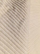 "80% SILK 20% Cotton CORDUROY FABRIC 48""W DRESSMAKING SEWING NATURAL IVORY BTY"