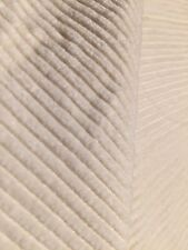 """80% Silk 20% Cotton Corduroy Fabric 48""""W Dressmaking Sewing Natural Ivory Bty"""
