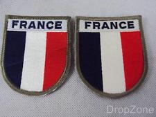Paio di Francese Esercito Militare Arm / Patch Di Manica / Distintivi