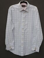 "Fantastic TED BAKER 'Endurance' Mens Long Sleeve Checked Shirt size 16.5"" / 44"""