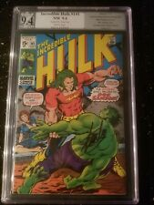 Incredible Hulk #141 ~ 1st Doc Samson 1971 ~ PGX Sig Series 9.4 STAN LEE signed!