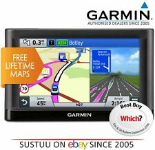 "Garmin Nuvi 65LM│6"" Car GPS SatNav│Free Lifetime UK & Western Europe Map Updates"