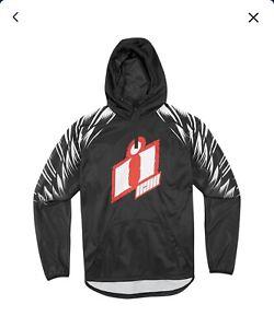Icon La Mesa Black Mens Pullover Hoody Size Medium New With Tags
