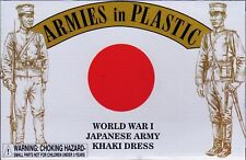 ARMIES IN PLASTIC 5615 WWI JAPANESE INFANTRY 16 Toy Soldiers Khaki FREE SHIP