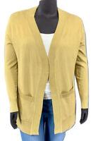 New! ZENANA plus size khaki long sleeve open front cardigan sweater