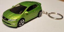 Hotwheels  honda civic type R keyring diecast car