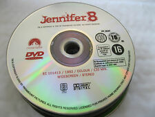 JENNIFER 8 starring Andy Garcia, Uma Thurman, - DISC ONLY  {DVD}