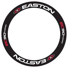 EASTON EC90 AERO WHEEL STICKER REPLACEMENT RIM DECALS FOR 55MM RIM DEPTH  2 RIMS
