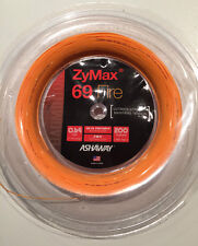ASHAWAY ZYMAX 69 FIRE 200M COIL BADMINTON RACKET STRING ORANGE COLOUR