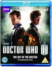 Dr Who Day of The Doctor 3d 50th Anniversay Special 2013 Blu-ray David Tennant