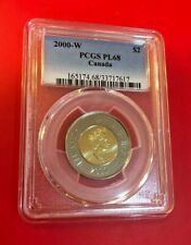 2000 W Canada $2 Two Dollar Toonie Canadian Coin PCGS PL 68 HIGHEST GRADE