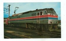 Vintage Railroad Train Post Card AMTRAK 950 December 14, 1974
