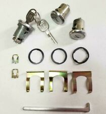 New 1969-1972 Chevelle, Gto, Skylark, Cutlass Door & Trunk Lock set with Gm keys (Fits: Buick)