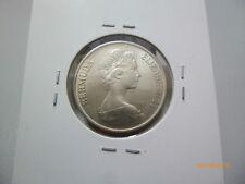 Bermuda 25 Cents coin 1973