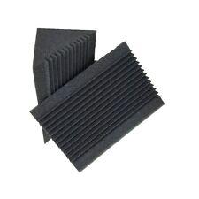 10 pcs Acoustic Foam Charcoal Corner Sound Bass Traps Sponge Studio Panel