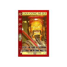 Authentic Shaolin External & Internal Kung Fu book wushu martial arts tai chi